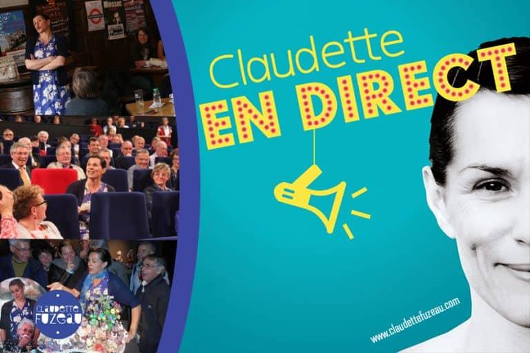 Claudette en direct